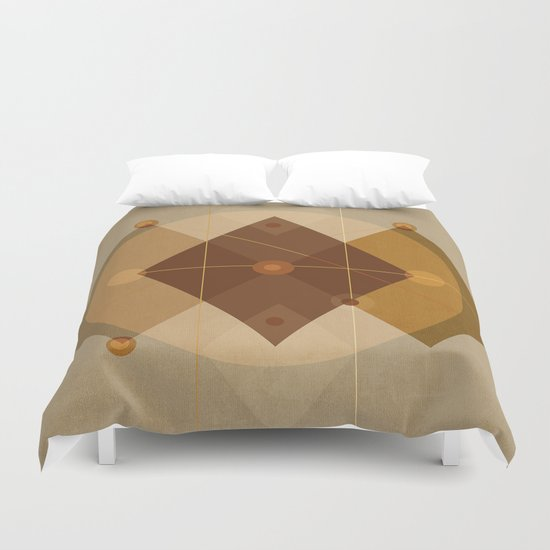 Geometric/Abstract 9 Duvet Cover