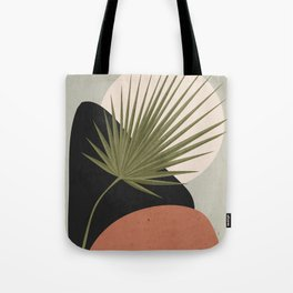 Tropical Leaf- Abstract Art 5 Tote Bag
