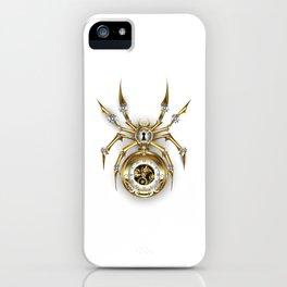 Spider with Clock ( Steampunk ) iPhone Case