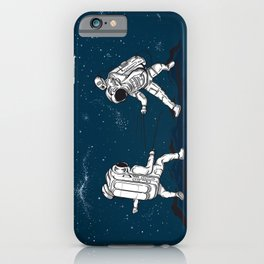 Fencing at a higher Level iPhone Case