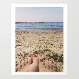 Summer time Art Print
