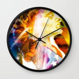 """""""Olympic Moments (Kerri)"""" Wall Clock"""