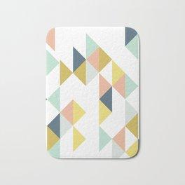 Modern Geometric Design Bath Mat