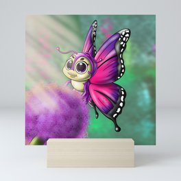 Butterfly Cutie Mini Art Print