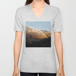 Crowned in clouds Unisex V-Neck