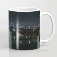portland Mugs featuring Portland, Oregon by Evan Dalen