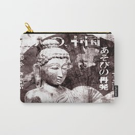 Buddha mit Fächer Carry-All Pouch