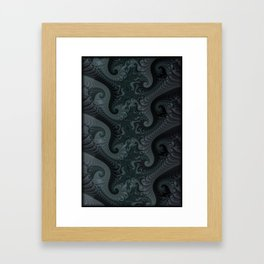 Fractal Spine Framed Art Print