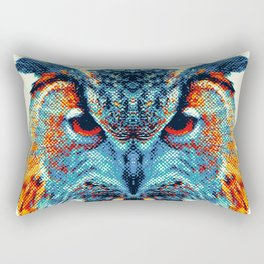 Owl - Colorful Animals Rectangular Pillow