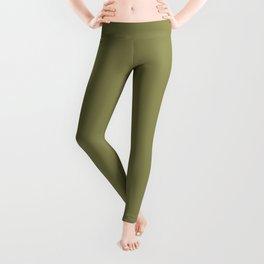 Green Olive | Pantone Fashion Color | Fall : Winter 2019-2020 | London | Solid Color Leggings