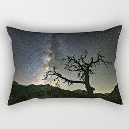 Star Tree Milky Way Rectangular Pillow