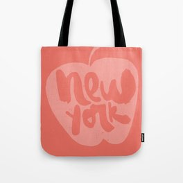 New York: The Big Apple Tote Bag