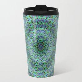 Circle pattern beaded Travel Mug