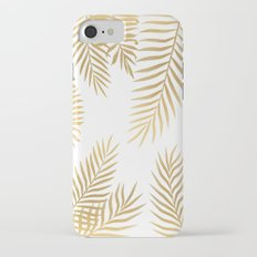 Gold palm leaves Slim Case iPhone 7