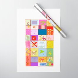 SUMMER QUILT Wrapping Paper