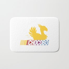 Nascar Chocobo Racing Bath Mat