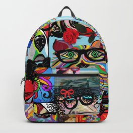 Hip Animals with Glasses . . . The Cool Kids! Backpack