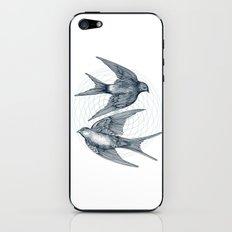Two Swallows iPhone & iPod Skin