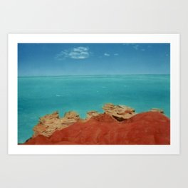 West Australian Coast Art Print
