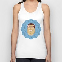 toy story Tank Tops featuring Buzz Lightyear - Toy Story by Kuki