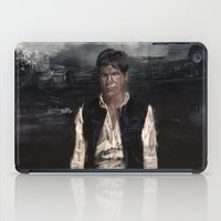 han solo iPad Cases featuring Han Solo by Rafal Rola