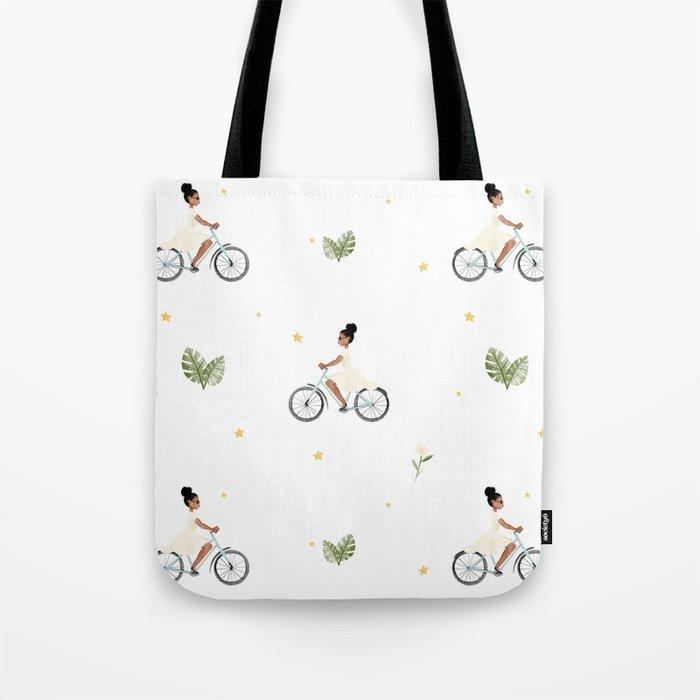 Bike Ride Pattern Umhängetasche