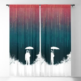 Meteoric rainfall Blackout Curtain