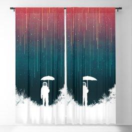 Meteoric rainfall Blackout Curtain