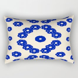 Blue Tuscany Rectangular Pillow