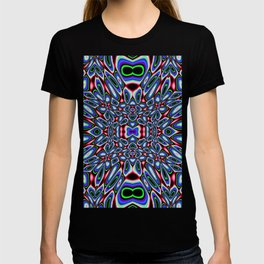 Crowded Landscape Abstract T-shirt