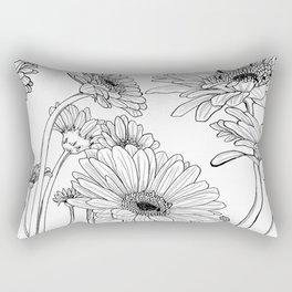 Gerberas 1 Rectangular Pillow