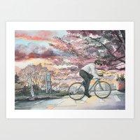Bicycle Boy 09 Art Print