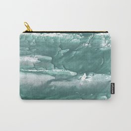 Marine color blurred wash drawing design Carry-All Pouch