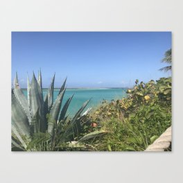 Sunny Day in Paradise Canvas Print