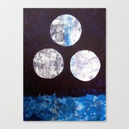 Drei Monde Canvas Print
