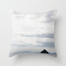Phang-nga National Park Islands Throw Pillow