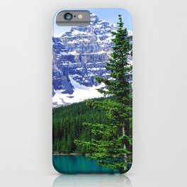 Canadian Wonder: Moraine Lake iPhone Case