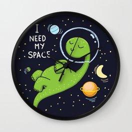need space Wall Clock