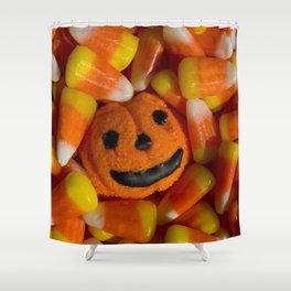 Halloween Candies Shower Curtain