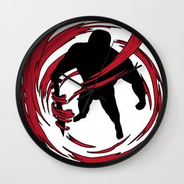 Ninja Night Warrior Shadow Fight Fantasy Wall Clock