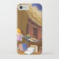 hermione iPhone & iPod Cases featuring Hermione  by Lesley Vamos