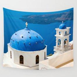 Beautiful Greece Wall Tapestry