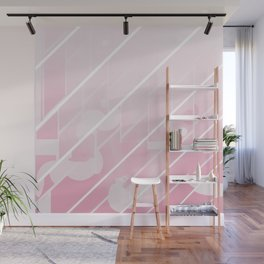 Pink Glide Wall Mural
