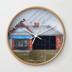 Untitled - The People  Wall Clock