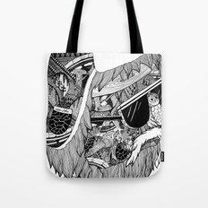 lumberjack Tote Bag