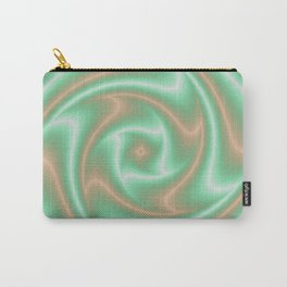 Ariele's Peach Abstract Carry-All Pouch