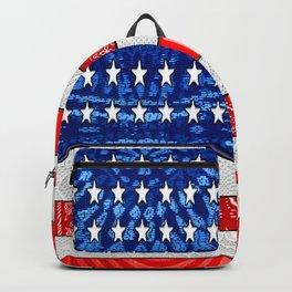 Retro American Flag Backpack