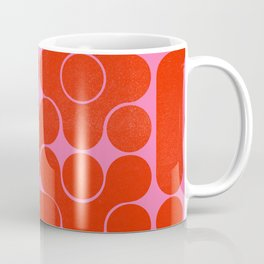 Abstract mid-century shapes no 6 Coffee Mug