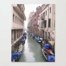 Streets in Venice Canvas Print