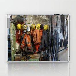 Working clothes, steam locomotives Laptop & iPad Skin